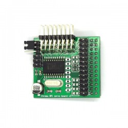Chroma Servo Board for Raspberry Pi