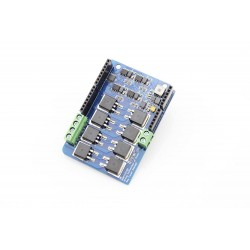 Dual Channel H-Bridge Motor Shield (8A 22V)