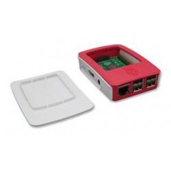 Plastist karp Raspberry Pi  (valge-punane)