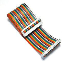 Ribbon cable 2 x 20, 20 cm (Raspberry Pi-le)