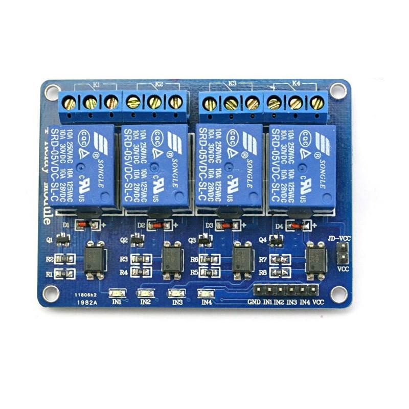 Relay module 4x10A