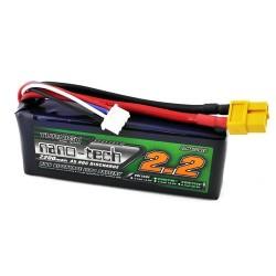 LiPo battery 2200mAh 3S 45-90C
