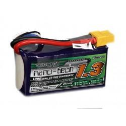 LiPo battery 1300mAh 3S 45-90C