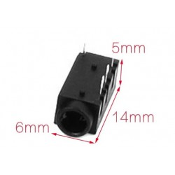 3.5mm audio connector