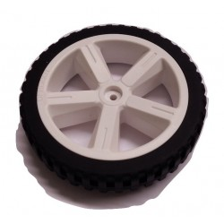 Wheel 80mm (silicone tire)
