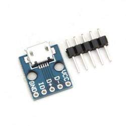 Mikro USB konnektor plaat