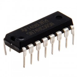Nihkeregister 74HC595 (8-bitti)