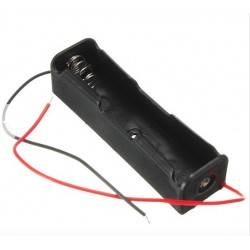 1x18650 LiIon battery holder