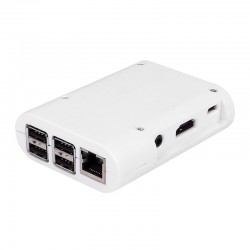 Plastic case for Raspberry Pi (white)