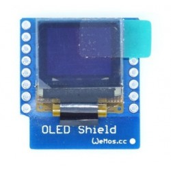 "WeMos D1 Mini OLED 0.66"" LCD shield"