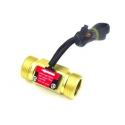 FLOW SENSOR 3/4 BRASS MATERIAL 50mm cable