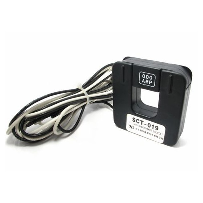 AC Current Sensor SCT019 Split Core Current Transformer 0-200A /33mA