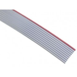 Ribbon cable 10x0.081mm² ,grey