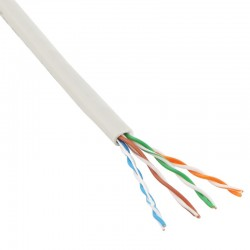 Twisted pair cable Cat5e UTP 4 pairs 0.205mm² (single core)