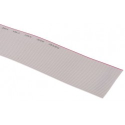 Ribbon cable 26x0.072mm² ,grey