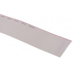 Ribbon cable 26x0.072mm² ,grey