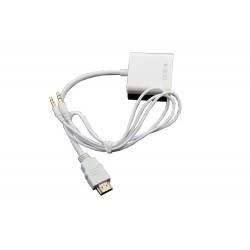 HDMI VGA+Audio Adapter
