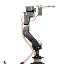 Robot 6 DOF Aluminium Clamp Claw Mount kit