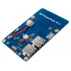 Lithium Battery Power Supply Expansion Board with Switch for Raspberry Pi