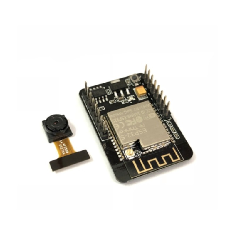 ESP32 development board with Bluetooth camera module