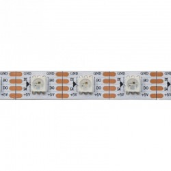 RGB LED WS2812B riba (60LEDS/M)