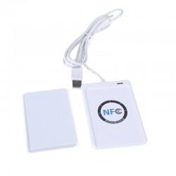 NFC ACR122U RFID kontaktivaba Smart Reader & Writer / USB + SDK + 4 tk IC-kaart