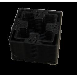 3D prinditud otsikud MakerBeam taladele (must)