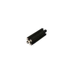 MakerBeam 40 mm, anodeeritud must