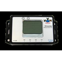 Wmonitor LCD - Juhtmevaba andmehõive monitor)