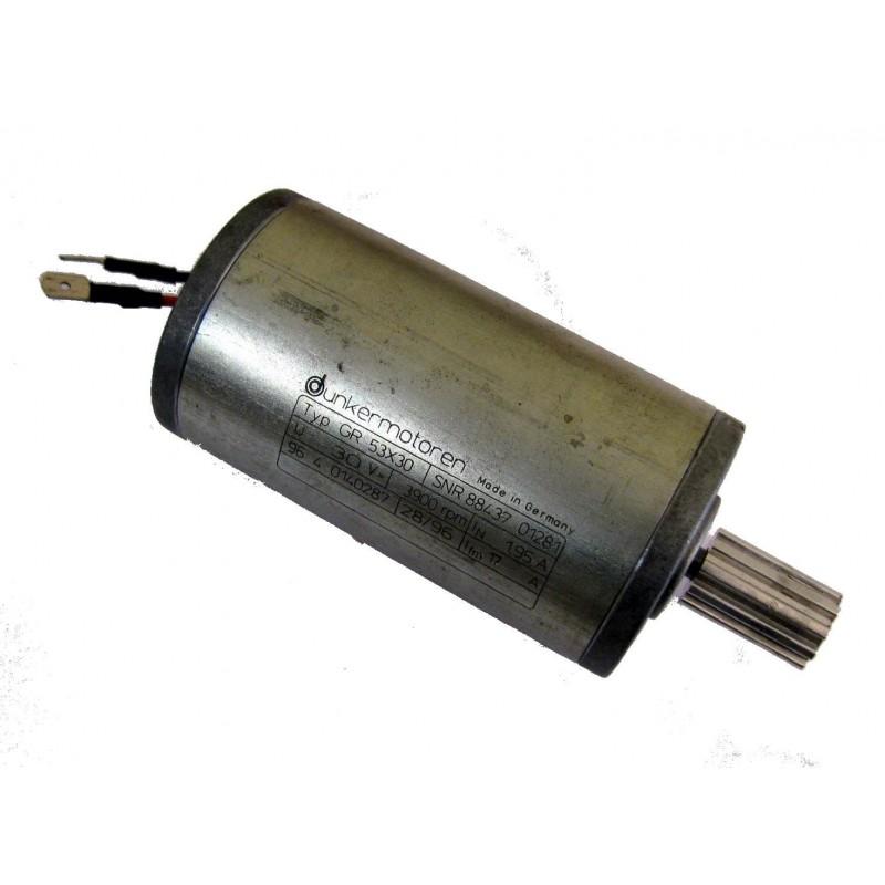 Tigureduktoriga Bosch elektrimootor 12 V