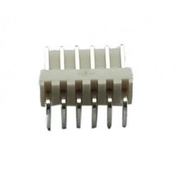 Pinheader Molex 6 90 deg