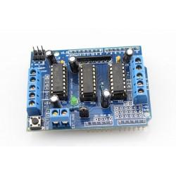 Arduino 4-kanaliga mootorite laiendusplaat