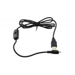 Mikro USB kaabel lülitiga