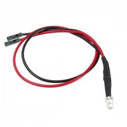 LED test kaabel (with series resistor)