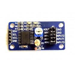 Analoog-digitaal muundur 8-bit PCF8591 koos anduritega