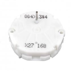Osutiga samm-mootor X27 näidikutele